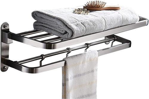 ello & allo inoxidable acero toalla bastidores para baño es