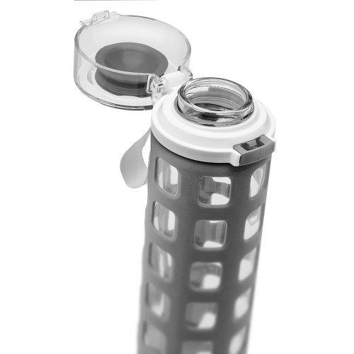 ello syndicate bpa free botella de agua vidrio