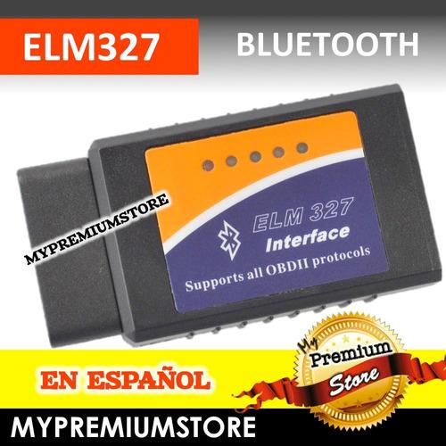 elm327 escaner automotriz obd2 bluetooth verificacion 2018