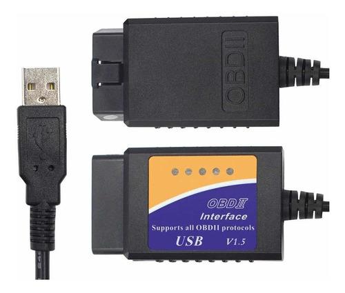 elm327 v 1.5 usb escaner obd2 portátil tablet windows pc elm