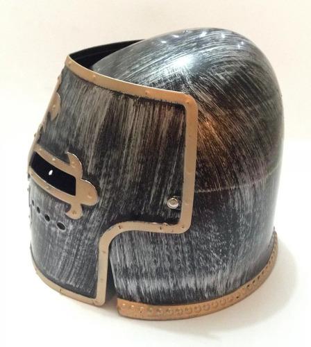 elmo cavalaria medieval inglesa capacete articulado
