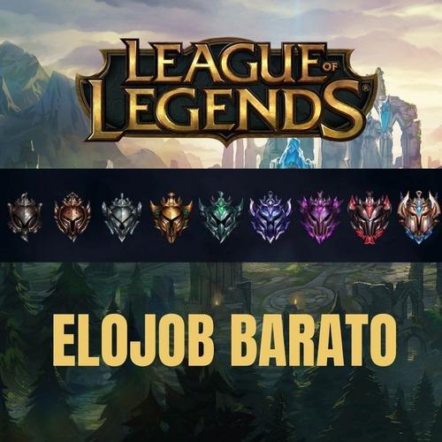 elo job barato league of legends