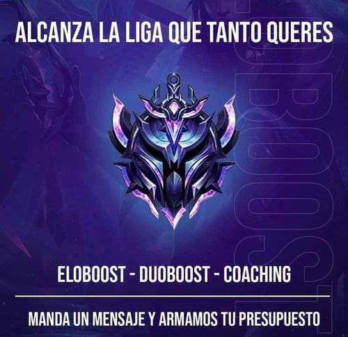 eloboost league of legends garantizado hasta platino 100%