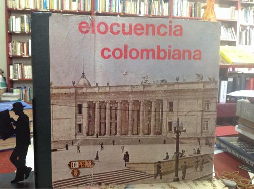 elocuencia colombiana: 5 lp con discursos de diferentes tema