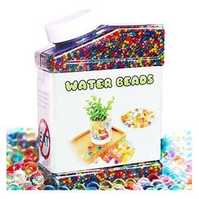 Elongdi Water Beads Pack Rainbow Mix 50,000 Bolas Que Crecen