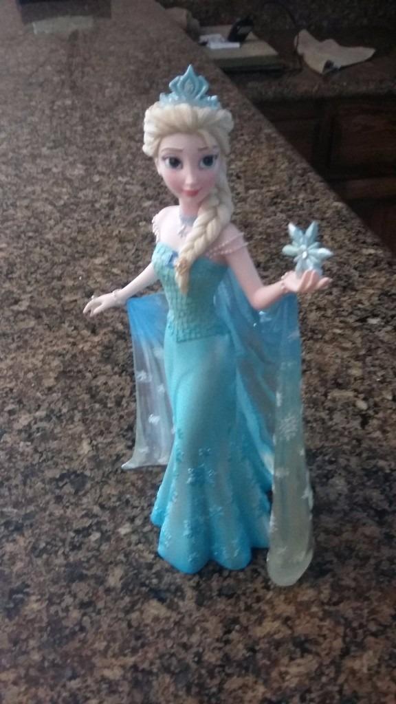 Elsa frozen figura couture de force disney showcase nueva for Couture de force elsa