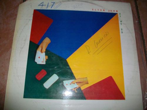 elton jhon, linda música discos de acetato lp, buen estado