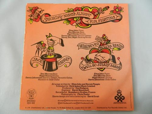 elton john 1973 saturday night's alright - compacto ep 38