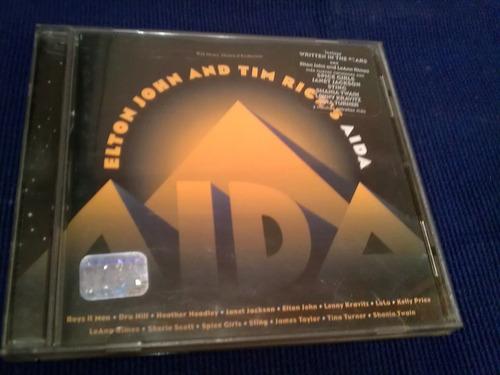 elton john and tim rices aida cd  1999