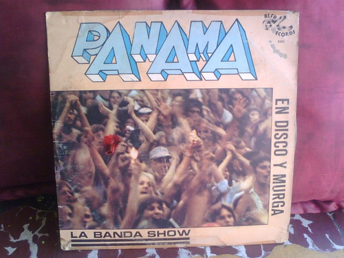 elton john, banda show panama. discos lp vinil