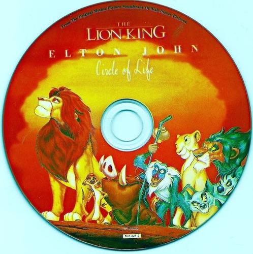 elton john circle of life picture cd single ed limitada
