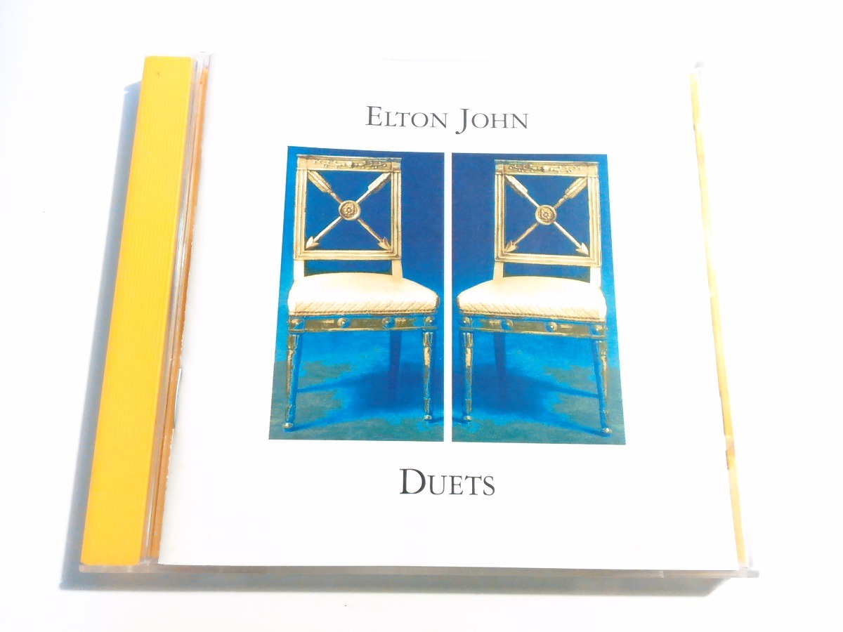 Elton John - Duets Cd George Michael Leonard Cohen Etc  - $ 275 00