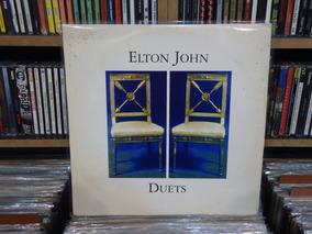 Elton John Lp Duplo Duets Vinil Leonard Cohen George Michael