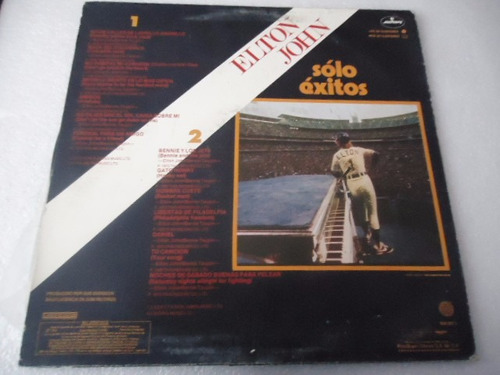 elton john / solo exitos vinyl lp acetato