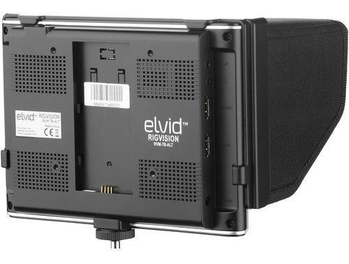 elvid 7 rigvision lightweight video y oncamera lcd monitor