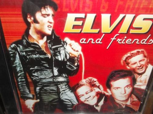 elvis and friends cd importado sellado