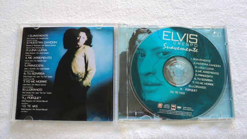elvis crespo suavemente cd 1998 sony music mexico