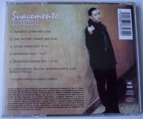 elvis crespo suavemente the remixes cd single c/ 6 versiones