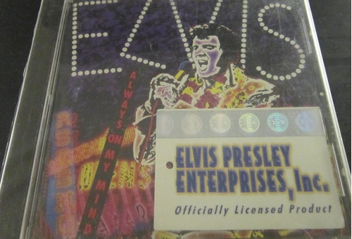 elvis presley - always on my mind nuevo con holograma cd