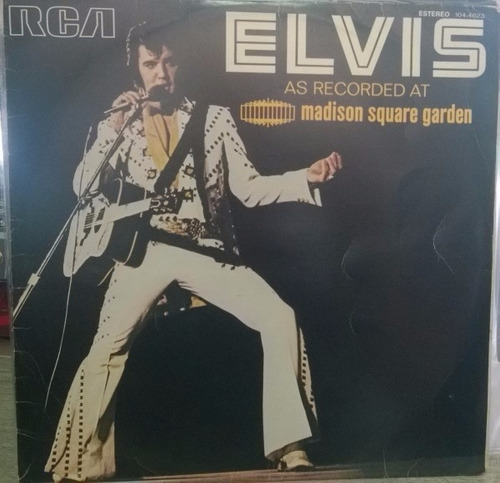 elvis presley - as redorded at madison square garden