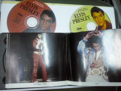 elvis presley - cd box de entrevistas y libro
