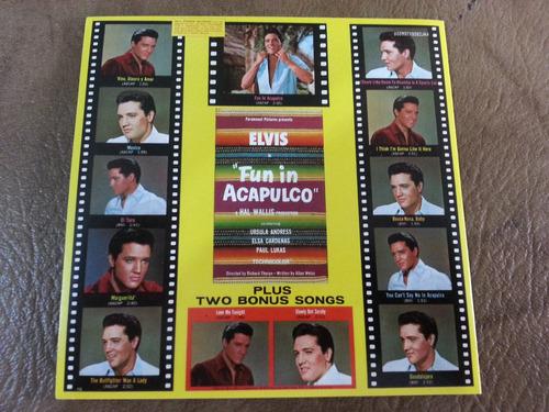 elvis presley -  fun in acapulco cd