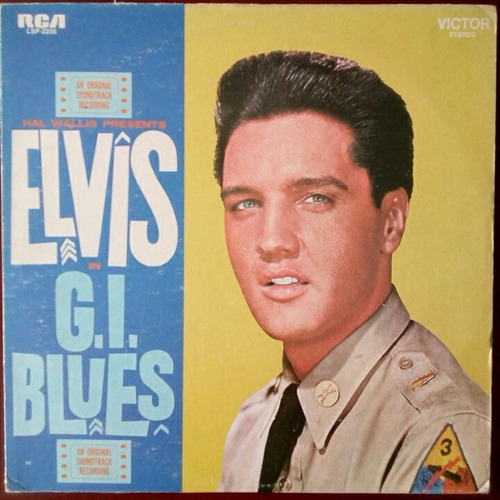 elvis presley - g.i blues - lp vinilo