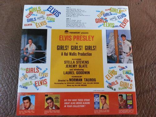 elvis presley - girls girl girls! cd