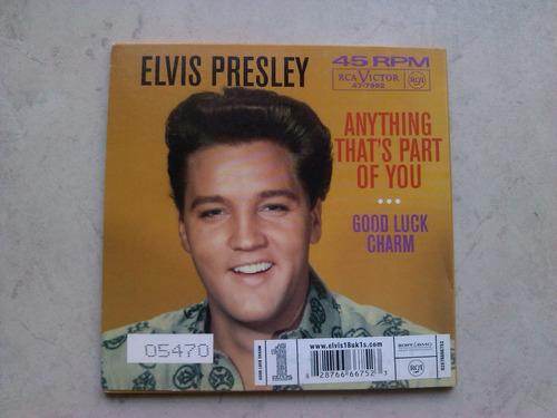 elvis presley - good luck charm cd simple edición limitada