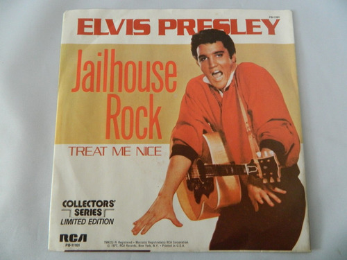 elvis presley - jailhouse rock - compacto ep 38