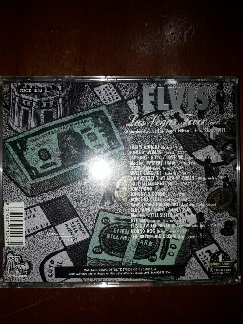 Elvis Presley - Las Vegas Fever Volume 1 Bootleg - $ 500,00