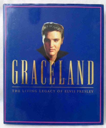elvis presley livro importado graceland living l inglês 1993