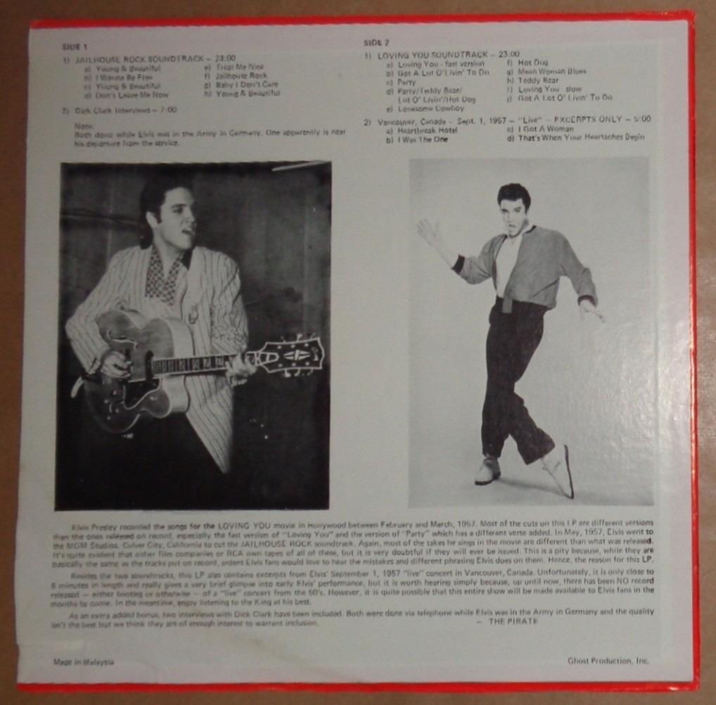 Elvis Presley Lp Import Got A Lot O´ Livin´ To Do Malaysia