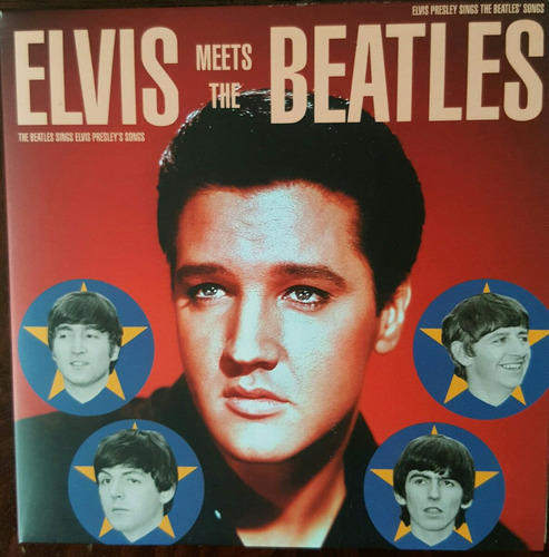 elvis presley meets the beatles (cd original)