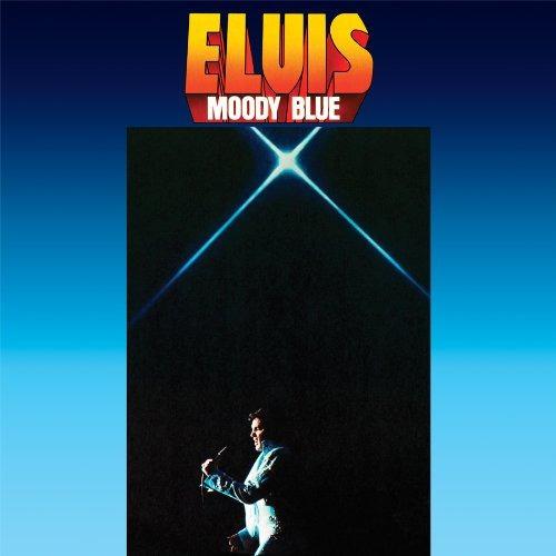 elvis presley moody blue lp vinilo180grs.color azul en stock