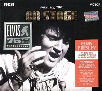 elvis presley - on stage 75 the anniversary cds 2 nuevo!!!