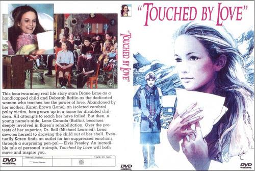 elvis presley raro dvd *touched by love/um toque de amor*
