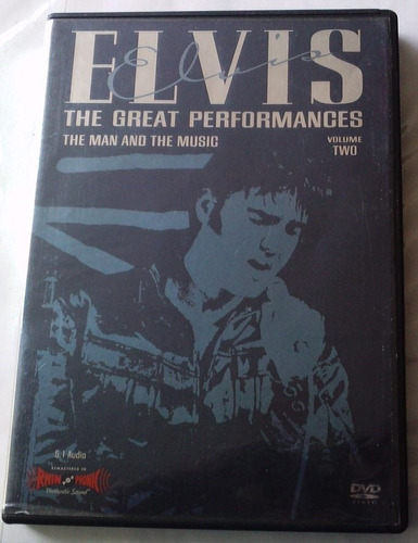 elvis presley the great performances the man and the music