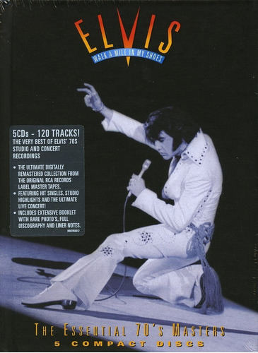 elvis presley walk a mile in my shoes: essential 70's master
