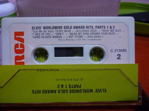 elvis presley worldwide gold award hits,1 & 2 importado usa