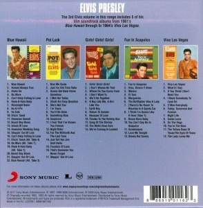 elvis presley(5cd's) - elvis presley at the movies -c/ bonus