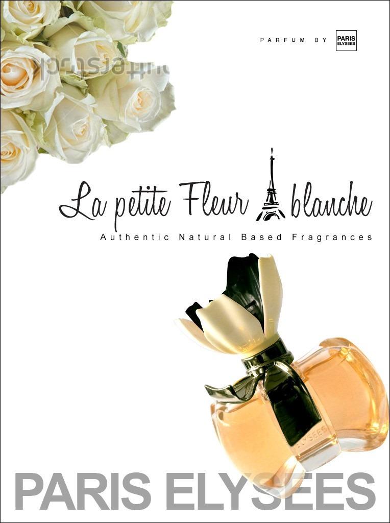 Perfume La Petite Fleur Blanche Paris Elysees Feminino - R  55,98 em ... 43e6268ae38