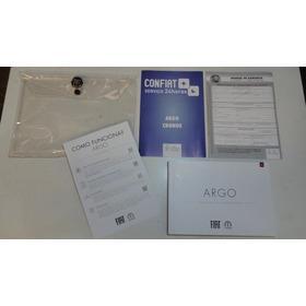 Em Branco Manual Fiat Argo 2018 2019 Original