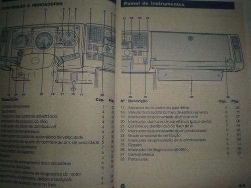 em branco manual ford cargo 815e 2006 2007 2008 original