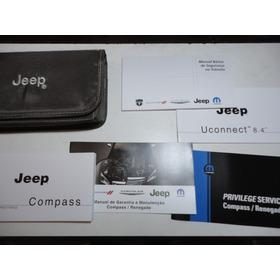 Em Branco Manual Jeep Compass 2017 2018 Original Chrysler