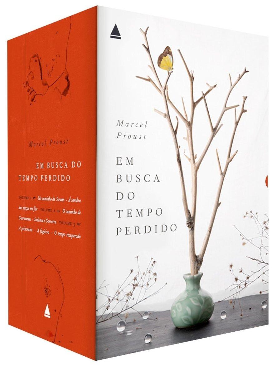 Em Busca Do Tempo Perdido Proust Box 3 Vols Desconto + Frete - R$ 180,40 em  Mercado Livre