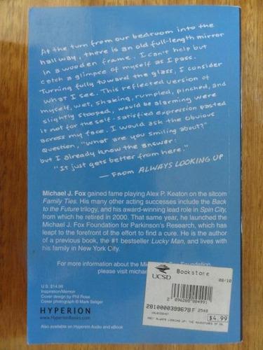 em inglês - always looking up - biografia - michael j. fox