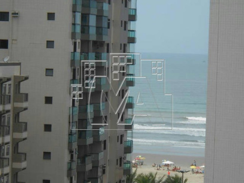 em praia grande , apartamento a 100 metros da praia , vista total , 2 dormitórios , sacada gourmet , financiamento direto