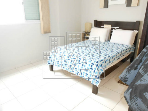 em praia grande , apartamento de 3 dormitórios , sendo 2 suites , com 2 vagas de garagem , churrasqueira na sacada , mobiliado para locação definitiva , lazer no prédio