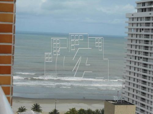em praia grande , lindo apartamento com vista total do mar , lazer e financiamento,nunca habitado,0 km